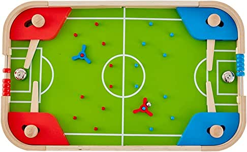 Futbolines Máquina De Pinball Para Niños Juguete De Billar Doble Juguete De Fútbol Manual Mesa De Juguete Interactivo Juguete Para Padres E Hijos De La Primera Infancia Juguete De Desarrollo Intelectu: Amazon.es:
