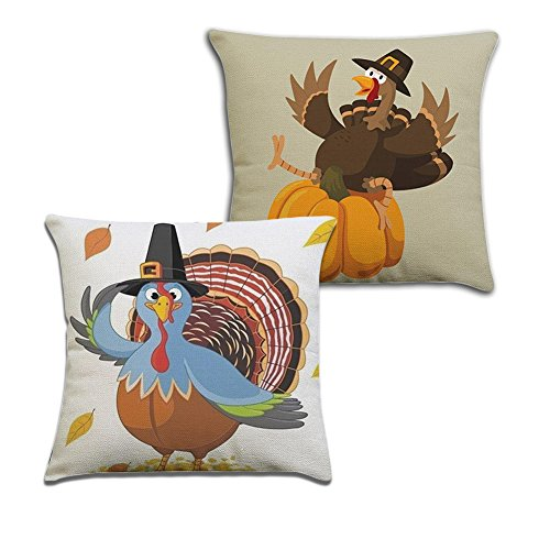 thanksgiving turkey pillow covers