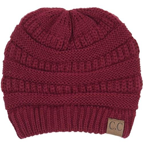 BY46_(US Seller)Winter Warm Hat Knit Beanie Hat by 9Proud