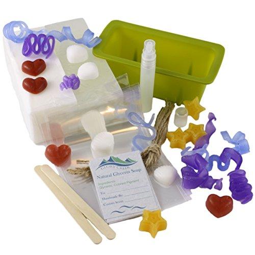 Glycerine Soap Slice - Custom Melt and Pour Glycerin Soap Gift Kit