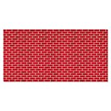 Fadeless Designs Bulletin Board Paper, Brick, 50 ft x 48, Sold as 1 Roll