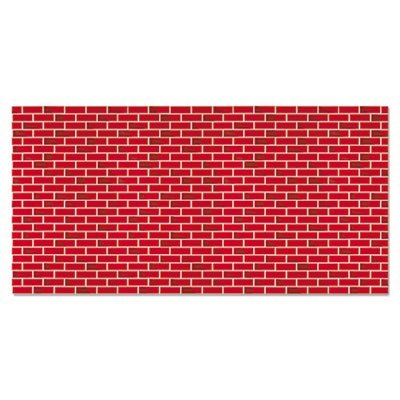 Fadeless Designs Bulletin Board Paper, Brick, 50 ft x 48, Sold as 1 -