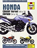 Honda CB600F Hornet & CBF600 1998 - 2006 (Haynes Service and Repair Manuals) by Anon (2014-07-30)