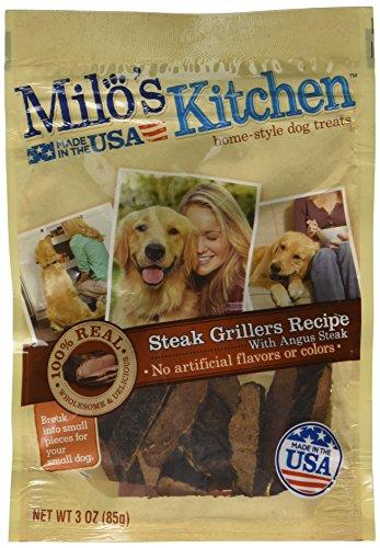 Big Heart Pet Milo's Steak Griller Treats, 3 oz