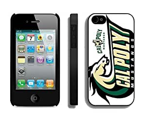 Diy Phone Mate Protector Personalized Cases for iPhone 6 plus 5.5 Designer Iphone 6 plus 5.5 Cover Cell Phone Accessories Cal Poly Mustangs 3