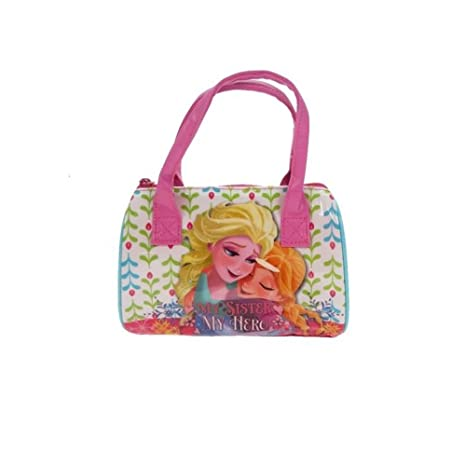 Amazon.com: Disney Frozen My Sister My Hero Bolso de bolos ...