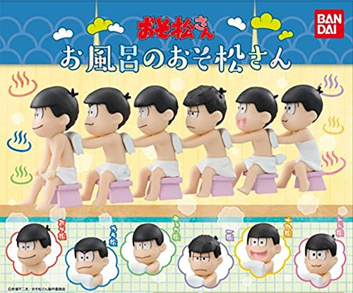 Osomatsu San - Bath Time Capsule Figures Set of ()