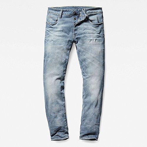 071 Aged Blu Uomo star G medium Jeans Raw xR6pFWwqT