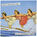 #2: Paperproducts Design 20-Pack Never Too Old Paper Cocktail Napkins