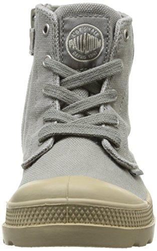 Palladium K Mixte Vert Zip Boots Hi Pampa putty concrete Enfant OOxFqrUBw