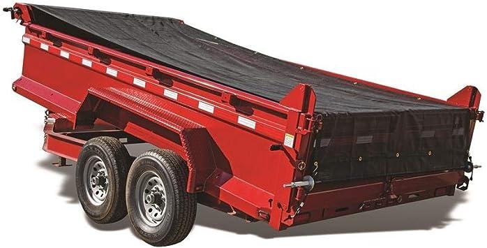 Dump Trailer or Landscape Truck Manual Crank Cab Level Complete Tarping System