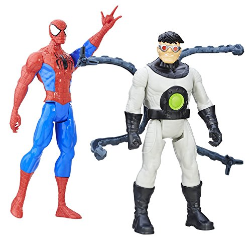 """12"""" Spiderman and 12"""" Doc Ock of the Sinister 6. From the Ti"""