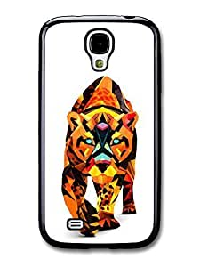 AMAF ? Accessories Abstract Walking Tiger Illustration case for Samsung Galaxy S4