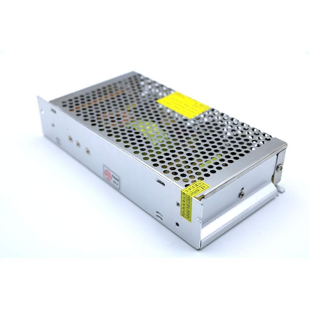 Transformateur Haute Puissance Variateurs Adaptateurs Interrupteur alimentation Pilote AC 110V/220V DC 12V 30A 360W pour LED Bande DC-LED