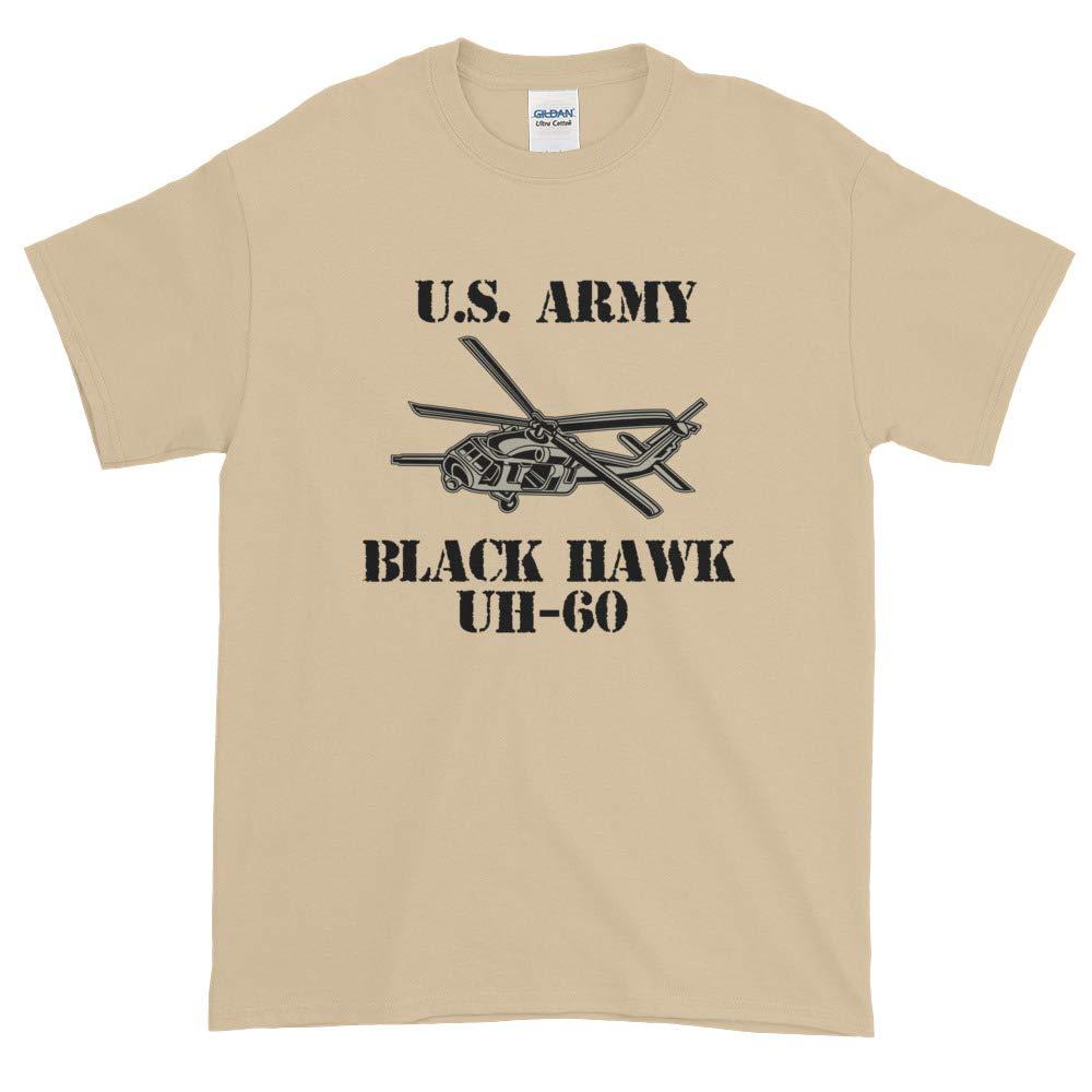 Gray Rearguard Designs UH-60 Black Hawk Short-Sleeve T-Shirt White Sand
