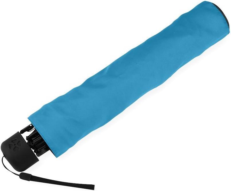 Custom North Dakota State Flag Compact Travel Windproof Rainproof Foldable Umbrella