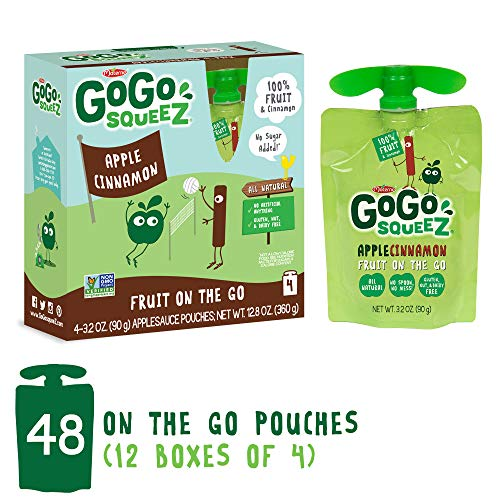 cinnamon apple sauce pouches - 3