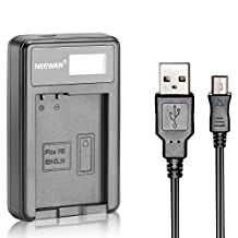 Neewer® USB Battery Charger for EN-EL14 Rechargeable Battery for Nikon Coolpix