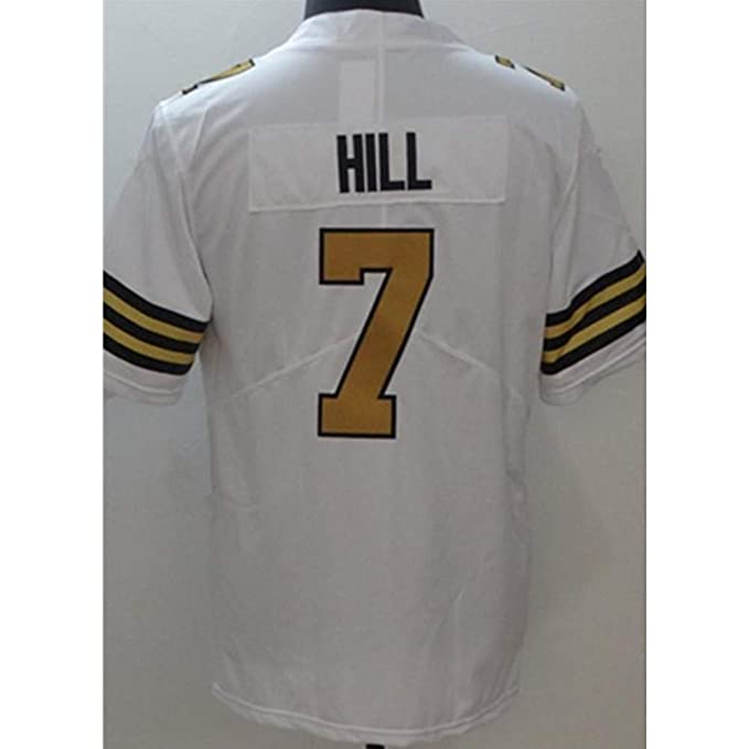 new products ef921 6726d Taysom Hill White Color Rush Game Jersey