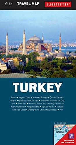 Turkey Travel Map, 7th (Globetrotter Travel Map) - Globetrotter Travel Map