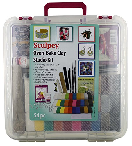 Sculpey XO42 Studio Kit, 14.18 x 1.65 x 14.31, Multicolor by Sculpey