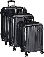 Travelers Choice Sedona 3-Piece Expandable Spinner Luggage