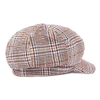 d0bc25661171 SCHOLIEBEN Black Grey Herringbone Newsboy Baker Boy Tweed Flat Cap Mens  Gatsby Hat: Amazon.co.uk: Clothing