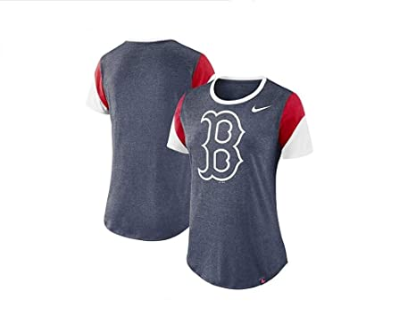 newest 22eec 85b00 Amazon.com: Nike Women's Boston Red Sox Trii-Blend Sleeve ...