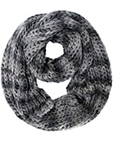 Luxury Divas Ombre Knit Infinity Scarf