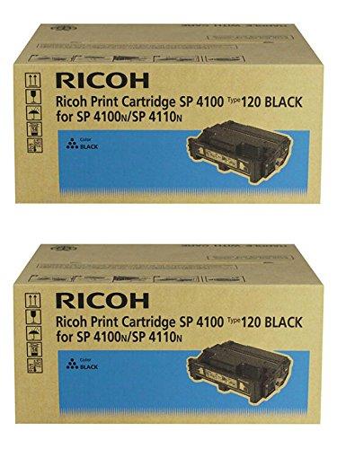 Ricoh 406997 Black Toner Cartridge 2-Pack for Aficio SP 4100N, 4210N, 4310N