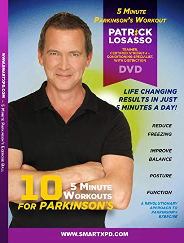 5-Minute Workout for Parkinson's DVD (10 Great Workouts)