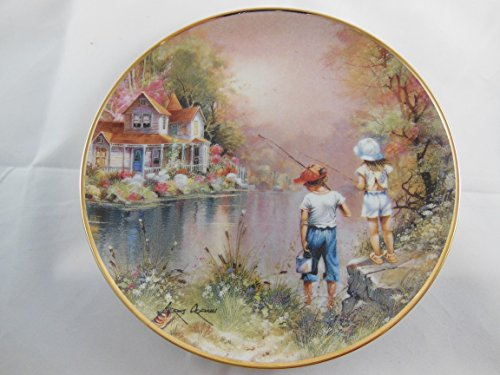 Pal Reel (Franklin Mint Andres Orpinas Reel Pals collector Plate # F6795 with certificate in original box)