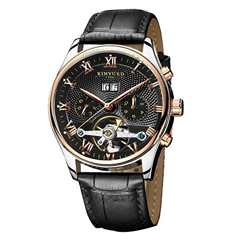 Classic Automatic Black Leather - 9