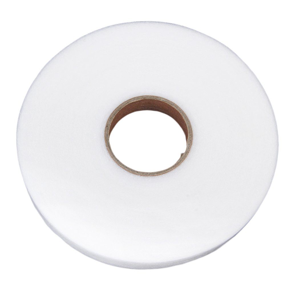 Phenovo Iron-On Fabric Tape/ Hemming Strip 1cm Wide Useful Sewing Tool