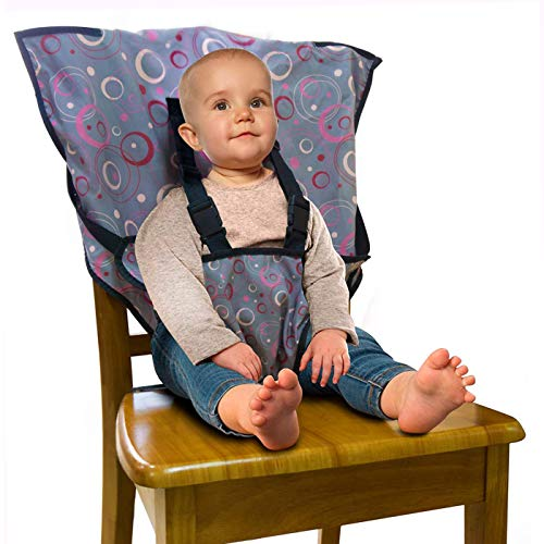 Portable Easy Seat Travel High Chair, Baby Feeding Booster Safety Seat Harness for Infants and Toddlers from LINPAS