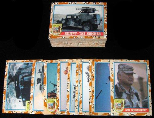 1991 Topps Desert Storm Series 2 Trading Card Set (88) ()