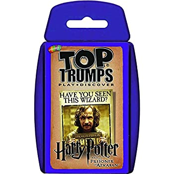 Harry Potter And The Prisoner Of Azkaban Top Trumps Card Game | Educational Card Games