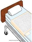 Tuckables Drawsheets [TUCKABLES UNDRPD 36X70 IN] (CS-50)
