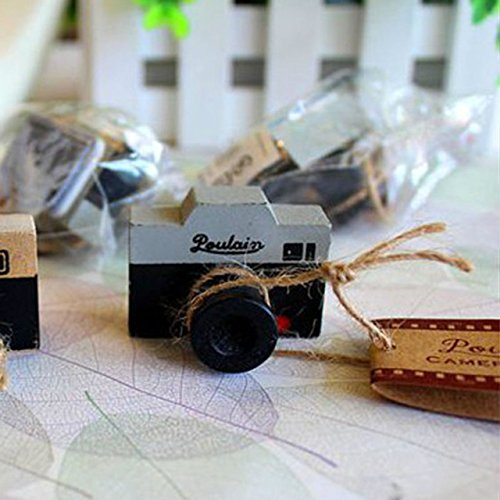 Stamp Seal - Lovely 2 Model Korea Wooden Retro Camera Rubber Stamp Seal Gray Amp Brown Diy Shipping - Cast Galosh Boss Caoutchouc Pestle Arctic Gum Elastic Pigeonhole Bad Postage - 1PCs ()