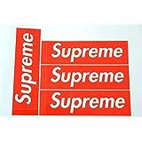 4枚セット 定番 SUPREME(シュプリーム)ステッカー ボックスロゴ