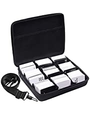 Portable Game Card Case 2,000+ Cards. Fits Main Game All Expansions (Extra Large)