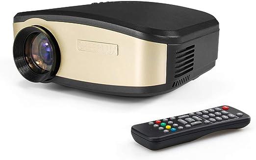 KBKG821 Mini proyector, proyector para Ordenador portátil con ...