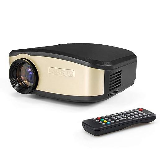 KBKG821 Mini proyector, proyector para Ordenador portátil ...