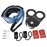 NovelBee Recovery Winch Accessory Set with 10 Ton