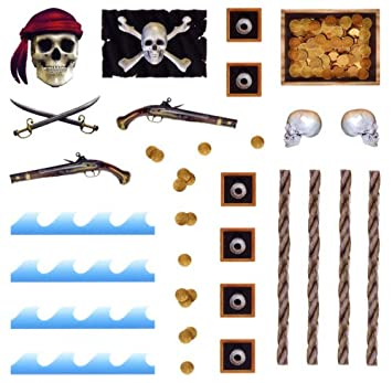 Pirate Pinewood Derby Car Decals Home Improvement