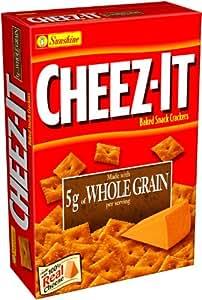 Amazon.com : Cheez-It Baked Snack Crackers, Whole Grain