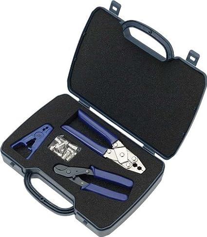 Greenlee PA70008 Azul crimpadora - Accesorio para cables