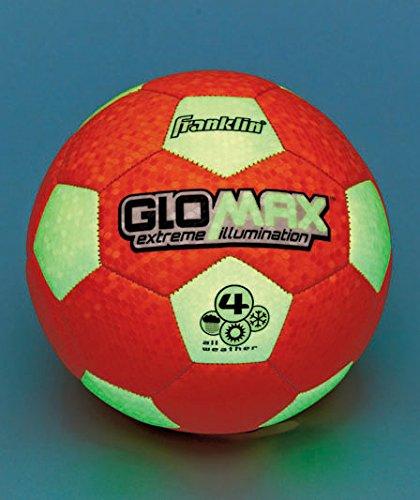 Glow-in-the-dark Soccer Ball