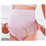 Maternity Support Belt - Large Size Belly Band for Pregnancy; Maternity Belt Support for Pelvic Pain; Breathable Abdominal Binder and Maternity Back Support; Pink Color