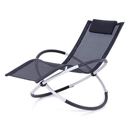 Amazon.com: QYJ-Chairs - Silla de jardín, plegable, creativa ...